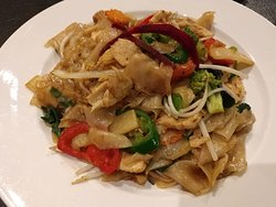 Great Pad Kee Mao at Alt Thai in Arlington Heights, IL (11/Apr/19).
