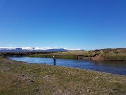Scenery on the Myrarkvisl River