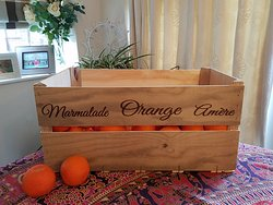 Seville oranges for the marmalade collection