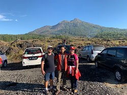 The perfect Batur hiking experience.