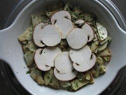 nel periodo dei funghi :porcini crudi sanissimi