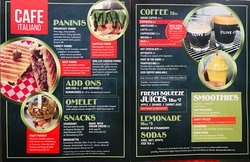 Our NEW Menu is at your service...