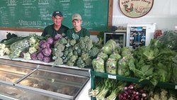 Fresh Vegetables and a wide assortment of every kind of meat your heart desires from Forever Green Farm and Garden!