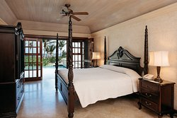 One Bedroom Ocean View Suite with 28 ft Pool Bedroom, Residences on the Sea