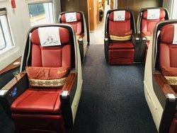 Business class seats bullet train seat