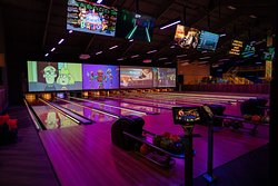 Brand New Bowling Alley Including the HyperBowling Interactive Video Game!