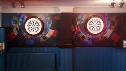 New darts area