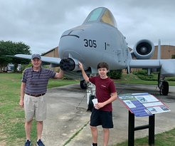 Visiting Flight Museum