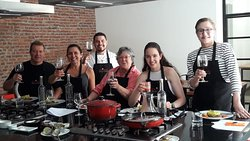 Wine pairing and Cooking Class