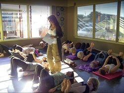 Join us for yoga in our smaller and more intimate sun room studio.