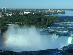 View of Falls from table