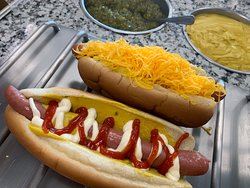 MO's Tasty Dog and a Cheese Dog
