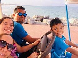 El sol, el mar y familia!