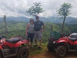 My guests loved the quad tour and especially the incredible views.