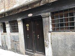 Doors to the hotel annex
