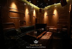 The W Karaoke Lounge is the first and only Karaoke bar in St. Louis with a luxurious contemporary interior design, along with a studio quality stereo system, and a smart digital display.  In the different rooms you can choose your preferred language of songs which includes English, Chinese, Korean, Vietnamese, and Japanese.  You can also submit your playlist in advance and we are happy to pre-load your songs before you arrive.