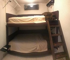 "Double Room, 2 queen beds, AC, 60"" Smart TV, safety box"