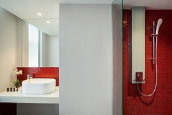 All rooms fully equipped bathroom with shower, a separate bathtub* for relaxation.