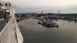 Tallinn from Silja Europa