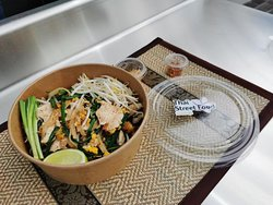Pad Thaï poulet