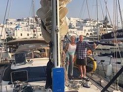 In the harbor on Paros