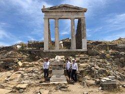 Exploring Delos