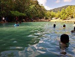 Milky emerald pool LOL