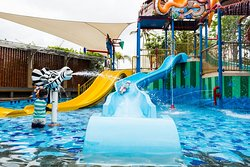UNLIMITED FUN AT MINIWATERPAK!! Join the excitement of staycation  in Family Paradise side of Grand Mirage Resort and Thalasso Bali. Splash your day like never before. #grandmirageresort #family #familyparadise