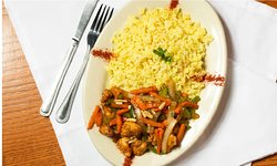 Our Chicken Stirfry is made with our own Stir fry recipe.