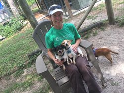 Snickers and Peanuts enjoying some lap time with one of our awesome volunteers. Interested in becoming a volunteer? Head to our website at alaqua.org and fill out an applications today!