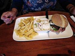 Burger Normande et frites