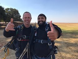 My first skydive