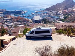 We love our Job! Working at Pedregal with spectacular Land's End views!