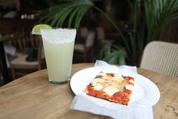 DOUBLE MARGARITA!   Pizza and Cocktail marg.