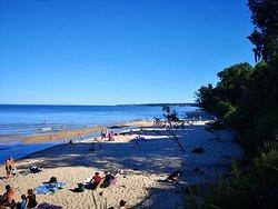Knäbäckshusens strand