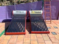 Calentadores solares para no utilizar gas para calentar el agua