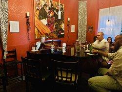 The Zebra Lounge Piano bar