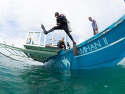Jump in and go diving. Photo @BryanChu