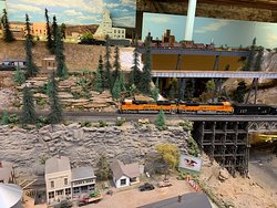Deadwood Model Train