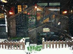 Çikolata Mahzeni is very beautiful place in winter as well