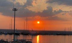 Sunset from Sentido Marina