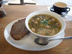 Tell travellers more about your photo Chunky veg soup