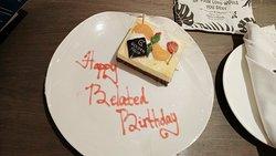 Birthday Cake from Golden Tulip Holland resort batu