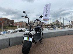 City Cruiser in the Scheveningen harbour