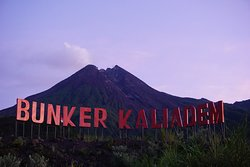 Kaliadem Bunker very closed to Merapi Mountain.You can reach by Jeep or Motor trail.