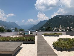Beautiful hotel with amazing view of Lake Como.