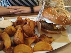 Increíble hamburguesa