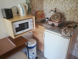 Kitchen/ dressing table, cannot get to the sink properly