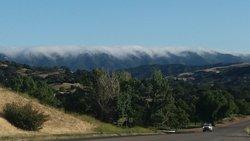 Coming into Santa Ynez from Santa Barbara via 154