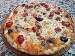 Pizza carnivore 4 viande